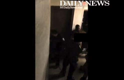 NYPD drags a 48-year-old naked woman from her apartment as