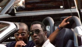 Andre Harrell and Sean Combs
