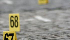 Police Investigate Crime scene
