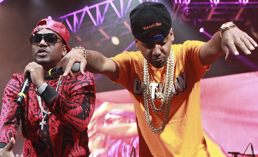 Cam'ron and Juelz Santana