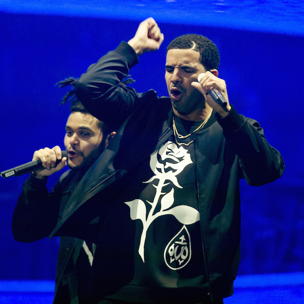 Drake and Weeknd In Concert