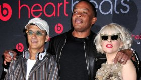 Jimmy Iovine, Dr. Dre and Lady Gaga