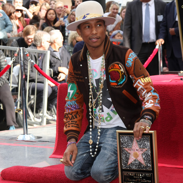 Pharrell Williams Hollywood Walk of Fame Star Ceremony