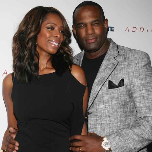Tasha Smith and husband Keith