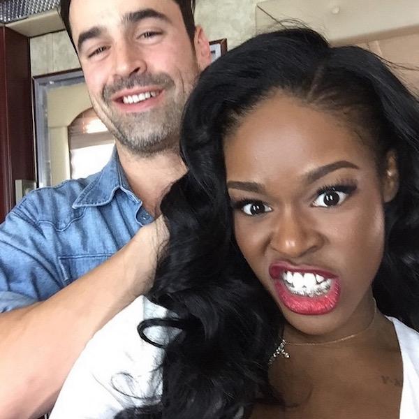 Azealia Banks and Jesse Bradford