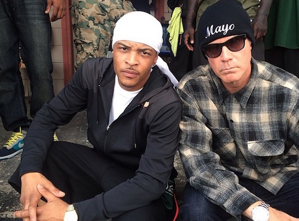 T.I. and Will Farrell