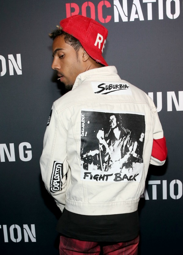 LOS ANGELES, CA - JUNE 26:  Recording artist Vic Mensa attends a Roc Nation curated Samsung exclusive concert at Samsung Studio LA on June 26, 2015 in Los Angeles, California.  (Photo by Jonathan Leibson/Getty Images for Samsung)