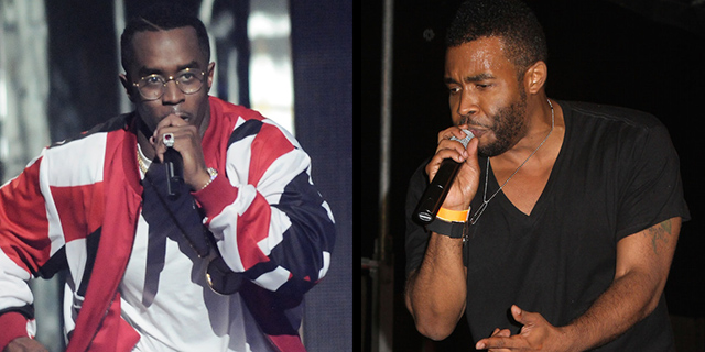 Diddy and Pharoahe Monch