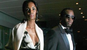Kim Porter and Sean Combs