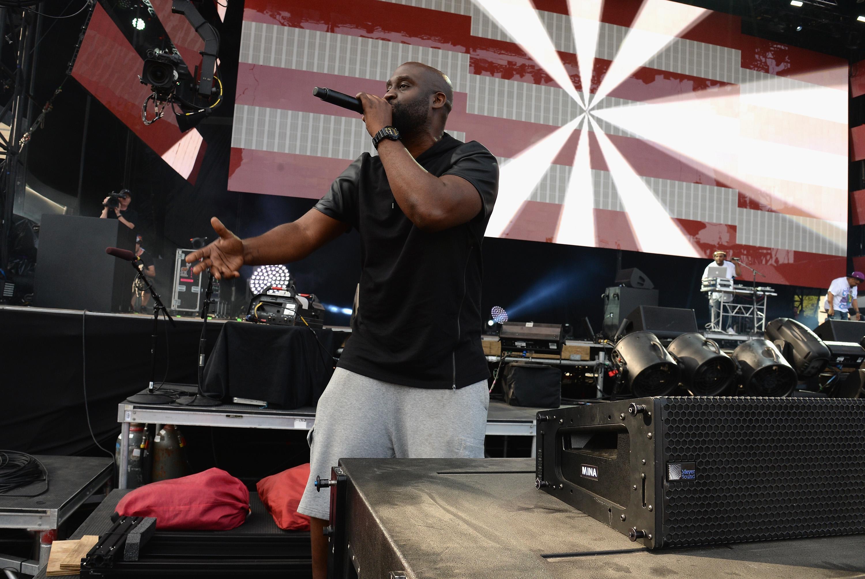 PHILADELPHIA, PA - SEPTEMBER 05:  Rapper Kelvin Mercer of De La Soul performs onstage during the 2015 Budweiser Made in America Festival at Benjamin Franklin Parkway on September 5, 2015 in Philadelphia, Pennsylvania.  (Photo by Kevin Mazur/Getty Images for Anheuser-Busch)