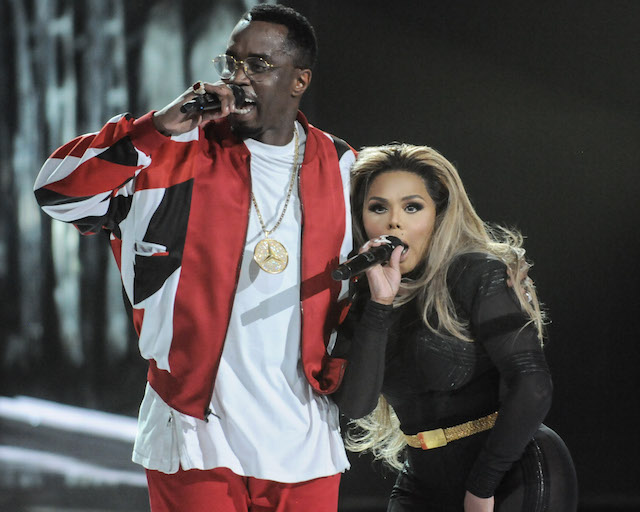Sean Combs and Lil Kim