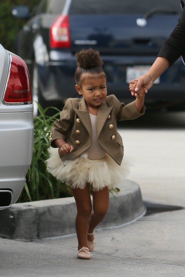 North West seen going to ballet class with her nanny Featuring: North West Where: Los Angeles, California, United States When: 28 Oct 2015 Credit: Michael Wright/WENN.com