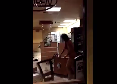 Naked woman trashes Subway restaurant in Alaska - ABC13