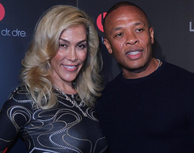 Nicole Threatt and Dr. Dre