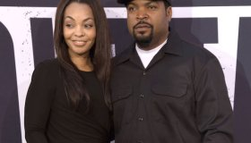 Kimberly Woodruff and Ice Cube