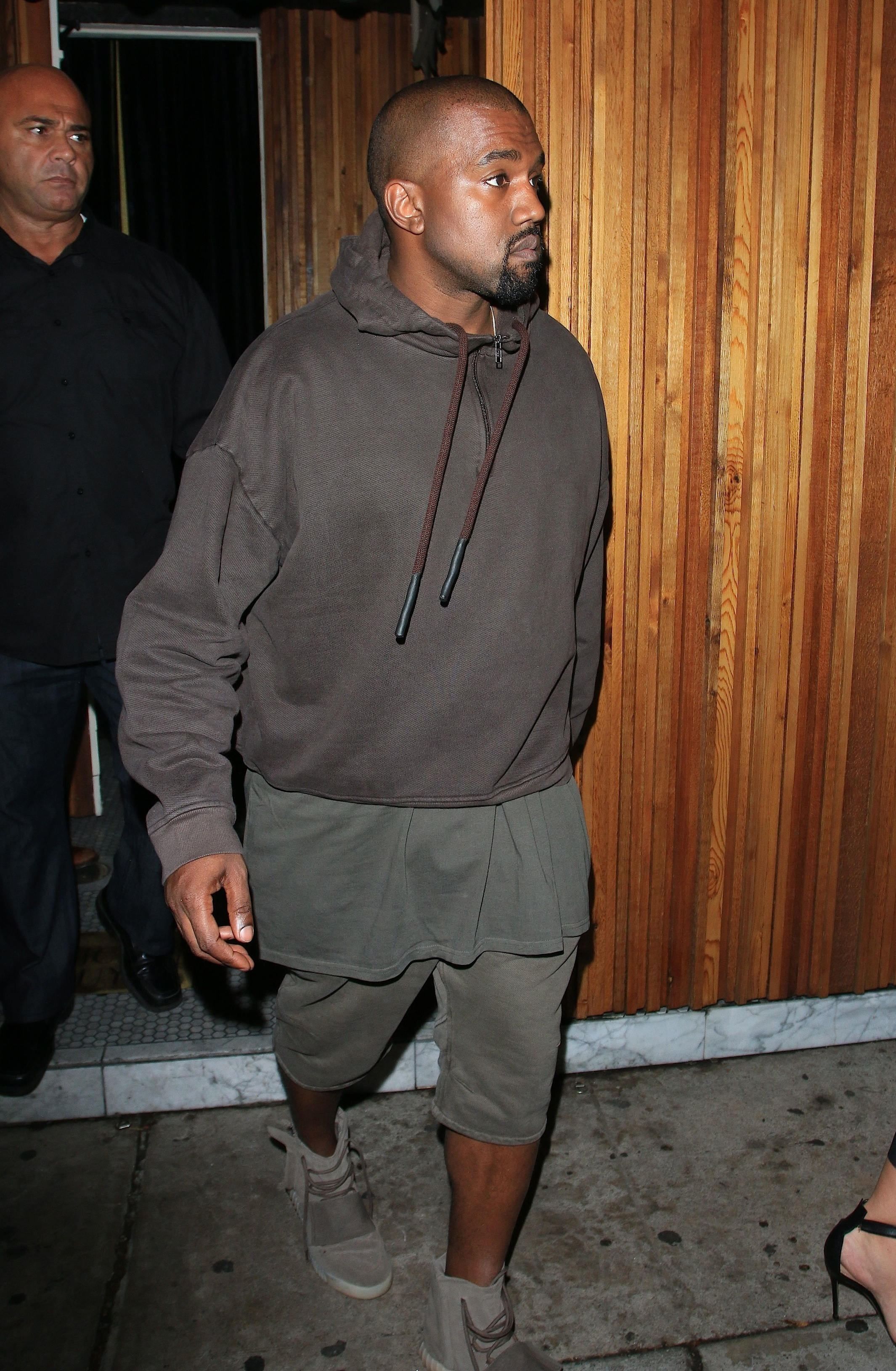A heavily pregnant Kim Kardashian and Kanye West attend Kendall Jenner's Birthday Celebration at The Nice Guy in West Hollywood Featuring: Kanye West Where: Los Angeles, California, United States When: 03 Nov 2015 Credit: Winston Burris/WENN.com