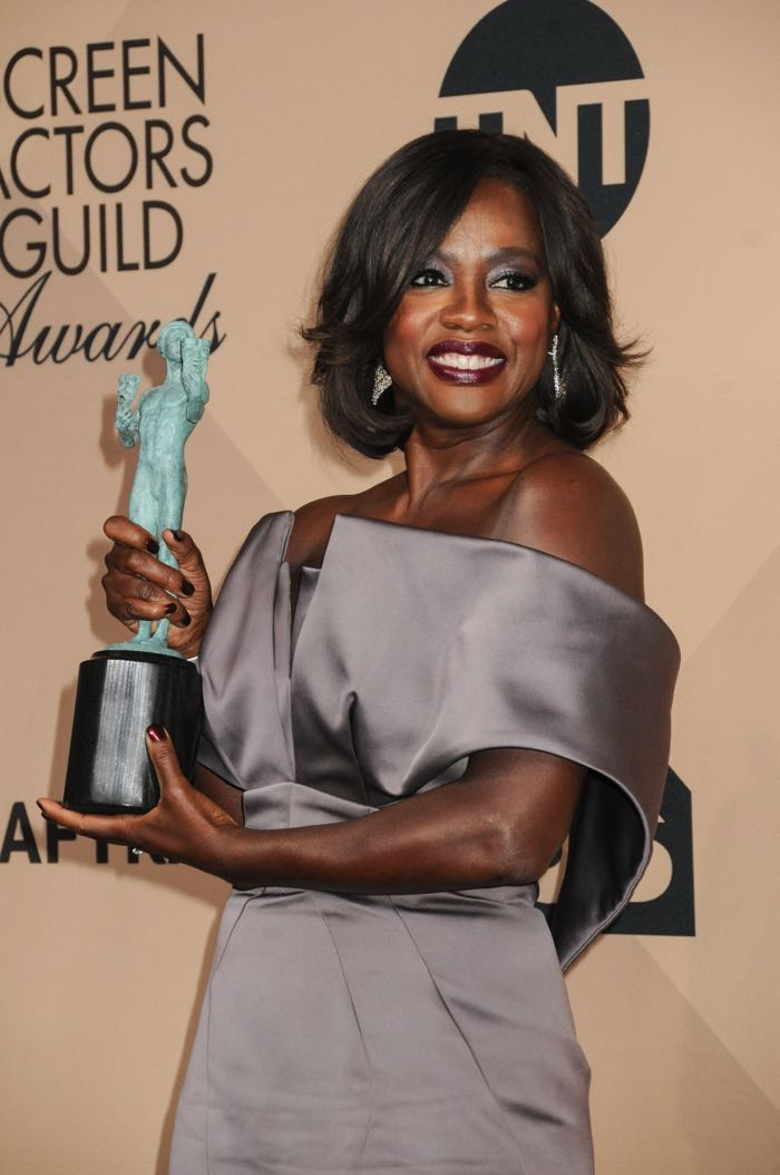 22nd Annual Screen Actors Guild Awards at The Shrine Expo Hall - Press Room Featuring: Viola Davis Where: Los Angeles, California, United States When: 30 Jan 2016 Credit: FayesVision/WENN.com