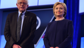 Sanders vs Clinton Debate