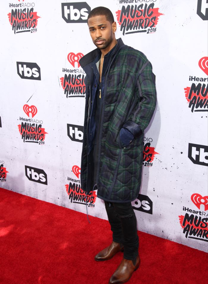 Celebrities attend iHeartRadio Music Awards at The Forum. Featuring: Big Sean Where: Los Angeles, California, United States When: 03 Apr 2016 Credit: Brian To/WENN.com