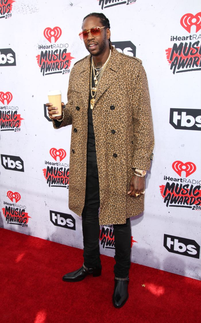 Celebrities attend iHeartRadio Music Awards at The Forum. Featuring: 2 Chainz Where: Los Angeles, California, United States When: 04 Apr 2016 Credit: Brian To/WENN.com