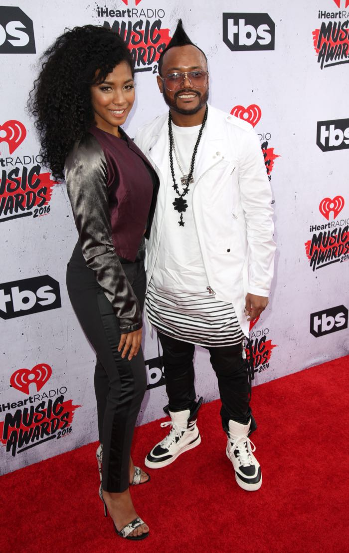 Celebrities attend iHeartRadio Music Awards at The Forum. Featuring: apl.de.ap Where: Los Angeles, California, United States When: 04 Apr 2016 Credit: Brian To/WENN.com