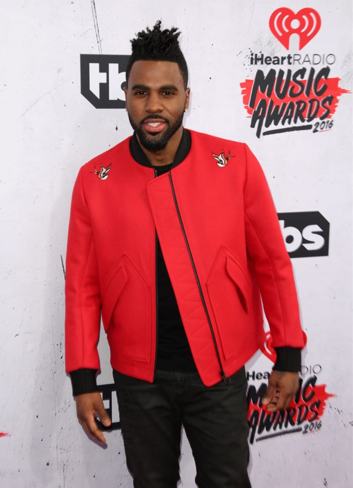 Celebrities attend iHeartRadio Music Awards at The Forum. Featuring: Jason Derulo Where: Los Angeles, California, United States When: 04 Apr 2016 Credit: Brian To/WENN.com