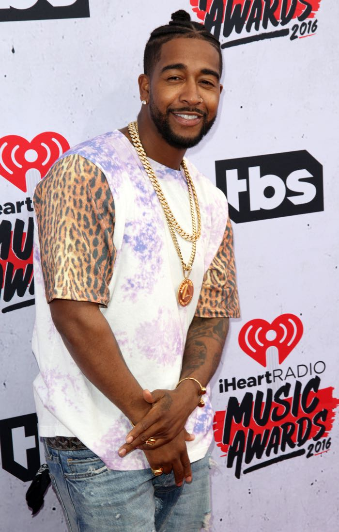 Celebrities attend iHeartRadio Music Awards at The Forum. Featuring: Omarion Where: Los Angeles, California, United States When: 04 Apr 2016 Credit: Brian To/WENN.com