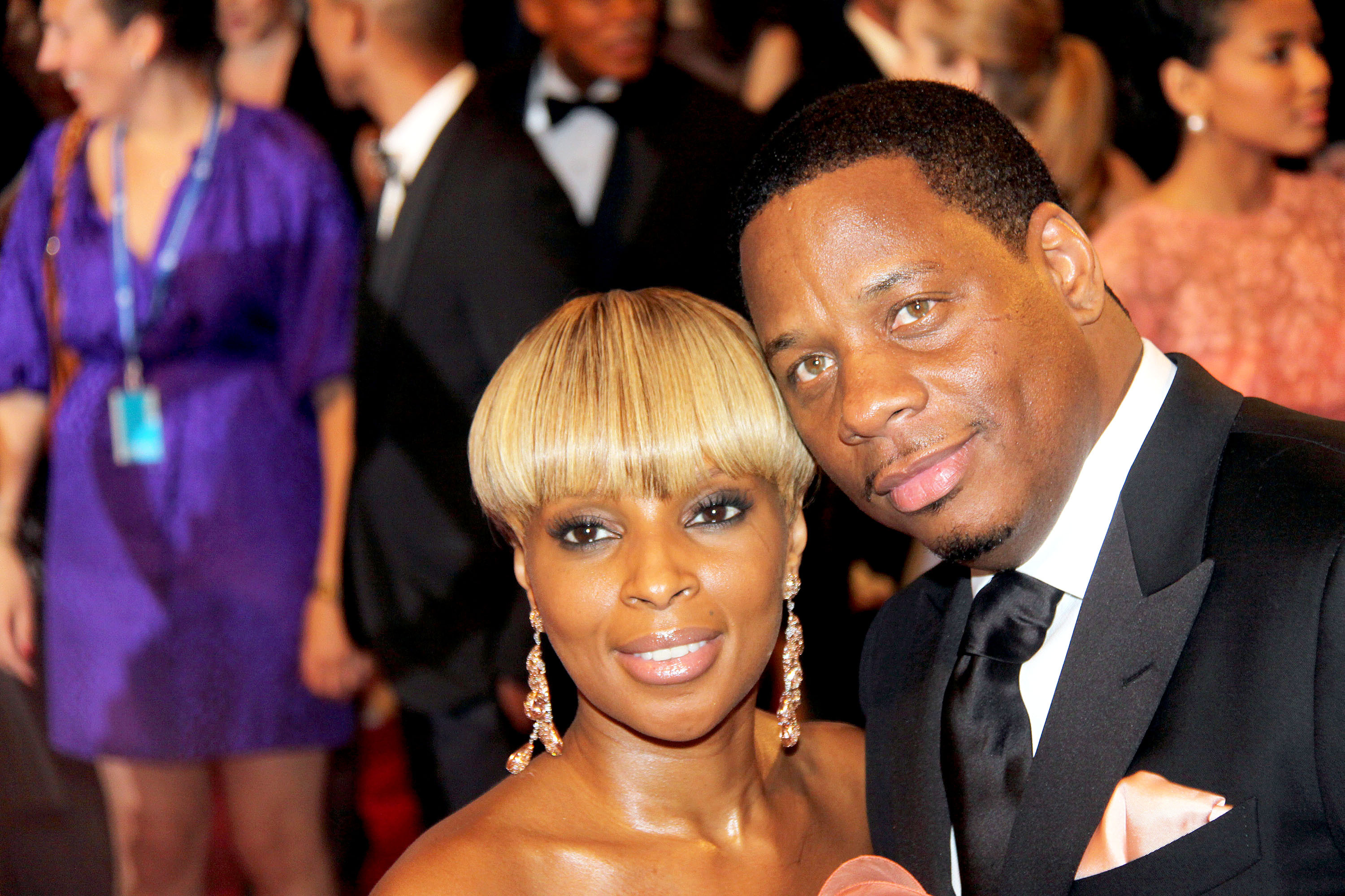 Mary J. Blige and Martin Kendu Isaacs The Costume Institute Gala Benefit to celebrate the opening of the 'American Woman: Fashioning a National Identity' exhibition held at The Metropolitan Museum of Art. Featuring: Mary J. Blige and Martin Kendu Isaacs Where: New York City, United States When: 03 May 2010 Credit: WENN