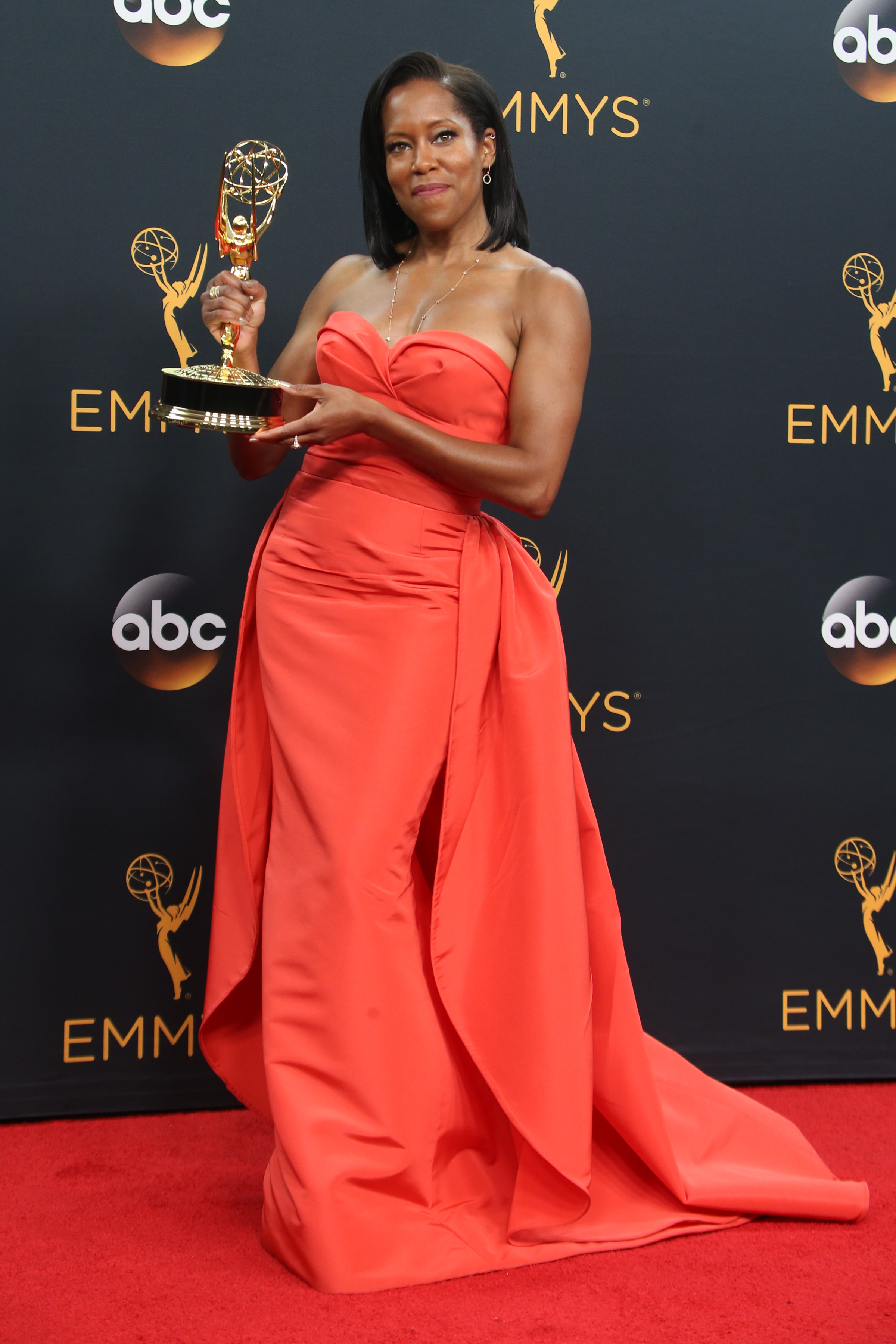 68th Annual Primetime Emmy Awards - Press Room at the Microsoft Theatre Featuring: Regina King Where: Los Angeles, California, United States When: 19 Sep 2016 Credit: FayesVision/WENN.com