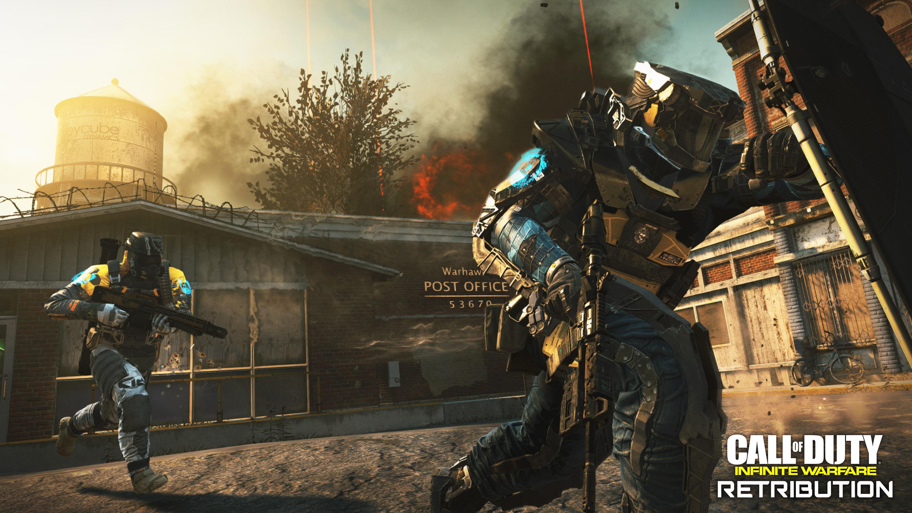 Call of Duty: Infinite Warfare Retribution DLC