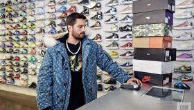 Scott Disick Sneaker Shopping with Complex