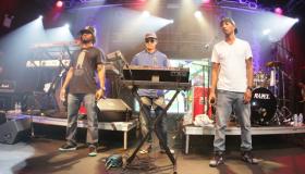 Shae Haley, Chad Hugo, Pharrell Williams of N.E.R.D.