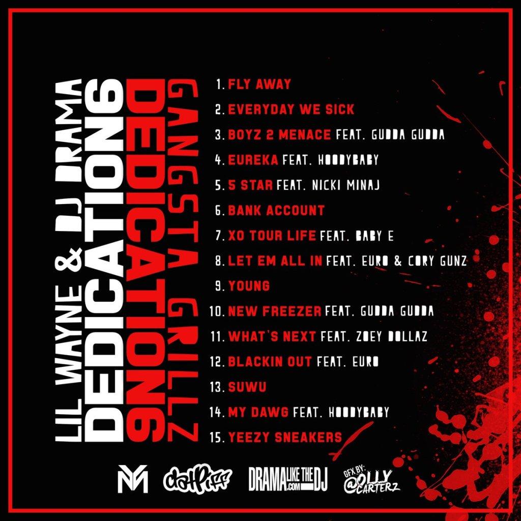 Lil Wayne Dedication 6 back