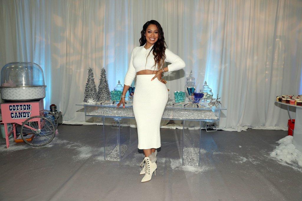 La La Anthony Hosts 'Winter Wonderland' Holiday Charity Event