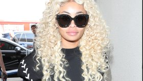 Blac Chyna at Los Angeles International Airport