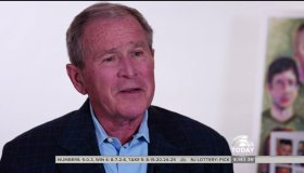 George W. Bush during an appearance on NBC's 'Today Show'