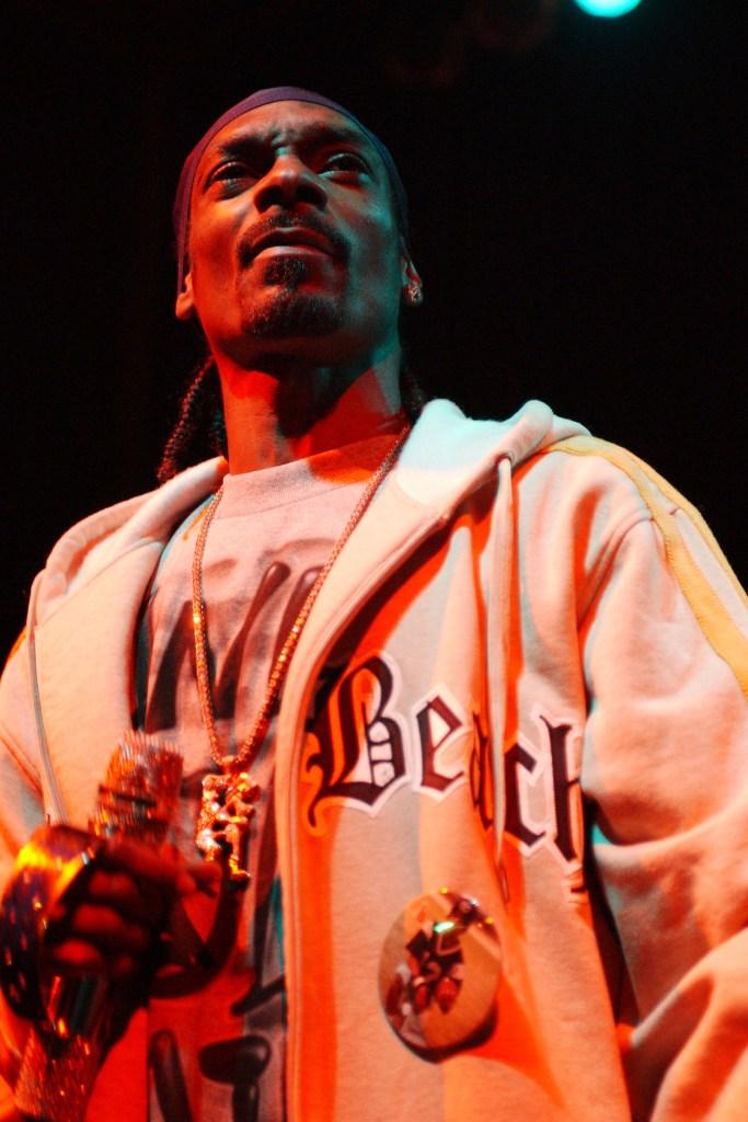 Snoop Dogg performing live at club Revolution