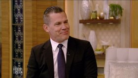 Josh Brolin during an appearance on ABC's 'Live with Kelly and Ryan.'