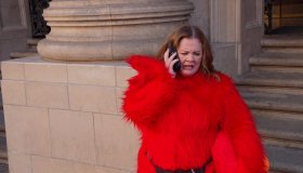 Melissa McCarthy during an appearance on ABC's Jimmy Kimmel Live!'