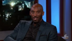 Kobe Bryant during an appearance on ABC's Jimmy Kimmel Live!'