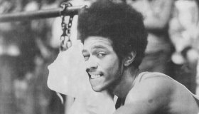 APR 1 1984; BASKETBALL PLAYER -- This is a 1973 file photo of Fly Williams No. 35. 1984;