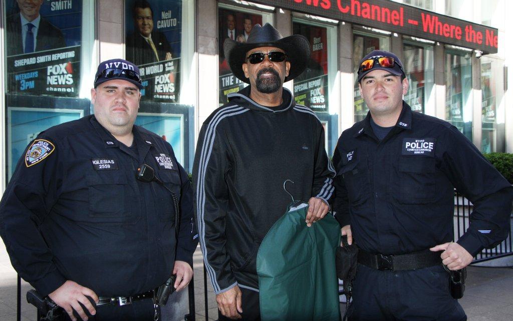 Sheriff David Clarke at Fox & Friends in New York City