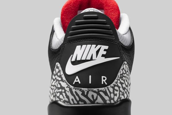 Air Jordan 3 2018 Black Cement 7