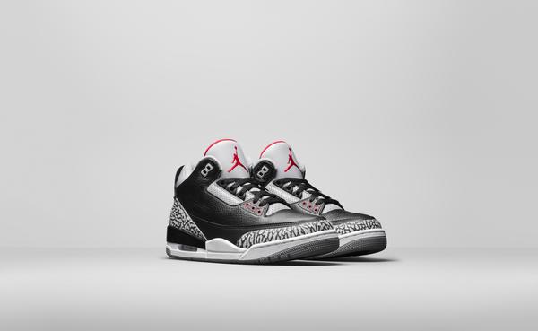 Air Jordan 3 2018 Black Cement 4
