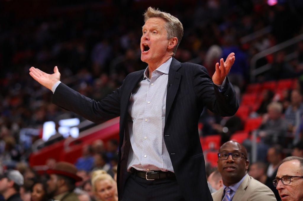 Golden State Warriors v Detroit Pistons
