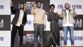 'Black Panther' Seoul Premiere - Press Conference