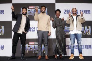 'Black Panther' Seoul Premiere - Press Conference