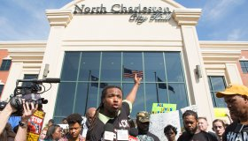 Walter Scott Demonstration and Press Conference