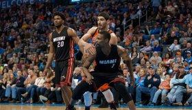 NBA: JAN 17 Heat at Thunder