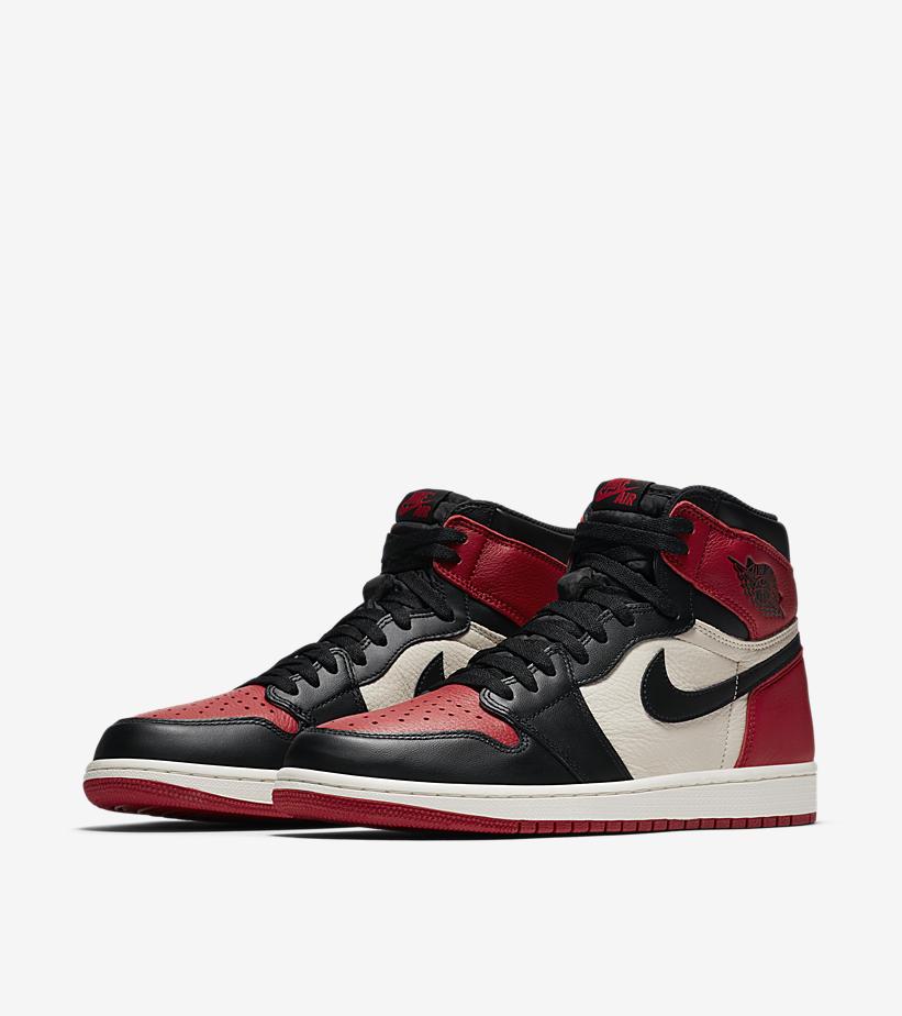 Nike Air Jordan 1 'Bred 'Toe' - James Pepion sneaker bootleg